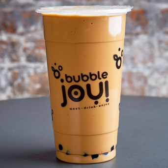 Mleczna Bubble Tea Ice Coffee