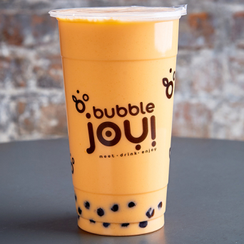 Mleczna Bubble Tea Papaja